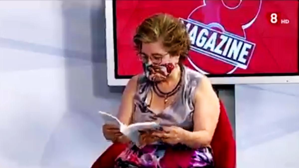 Sonsoles, la autora viral de la TV de Castilla y León