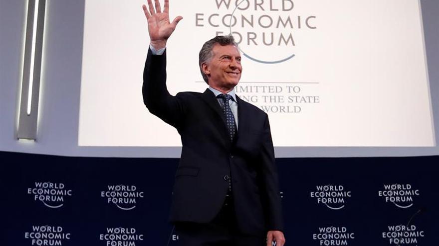 """Macri califica de """"inaceptable"""" la situación en Venezuela"""