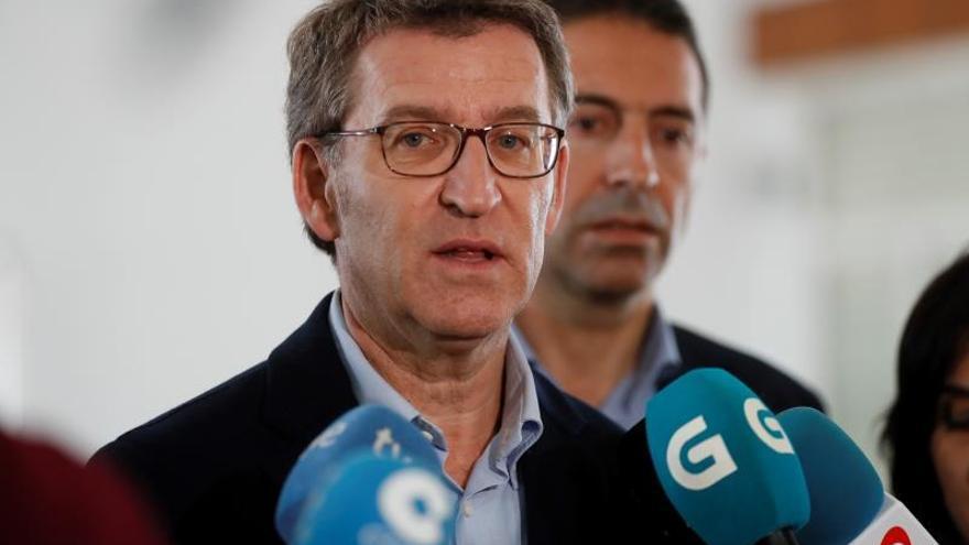 """Feijóo recuerda que el objetivo de Vox es """"echar al presidente de la Xunta"""