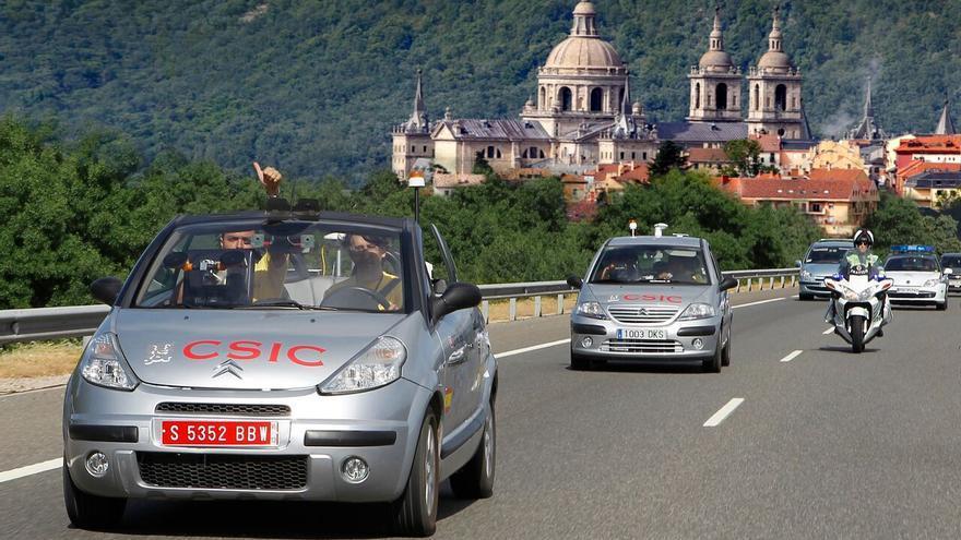 Platero recorrió 100 kilómetros de forma autónoma en 2012