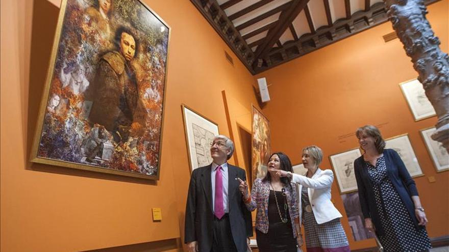 Los dibujos de Mengs inspirados en Rafael se exponen por primera vez