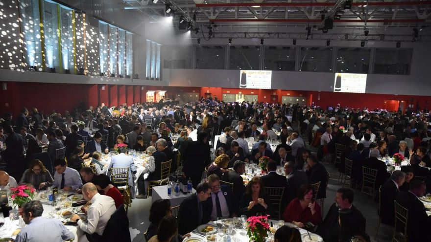Cena de entrega de los premios Porc d´Or.