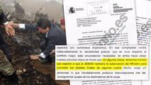 Una carta de la cúpula militar sobre el Yak-42 asegura que Trillo era quien autorizaba los vuelos
