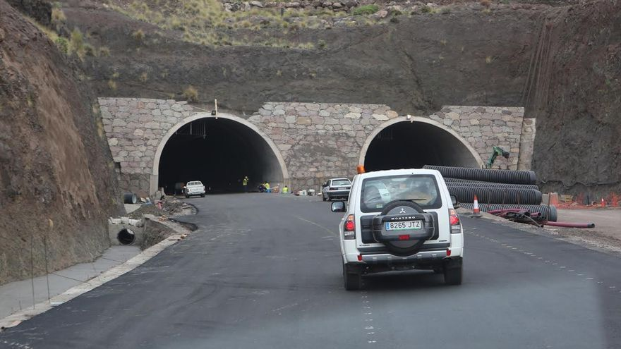Túneles de la carretera de La Aldea. (ALEJANDRO RAMOS)