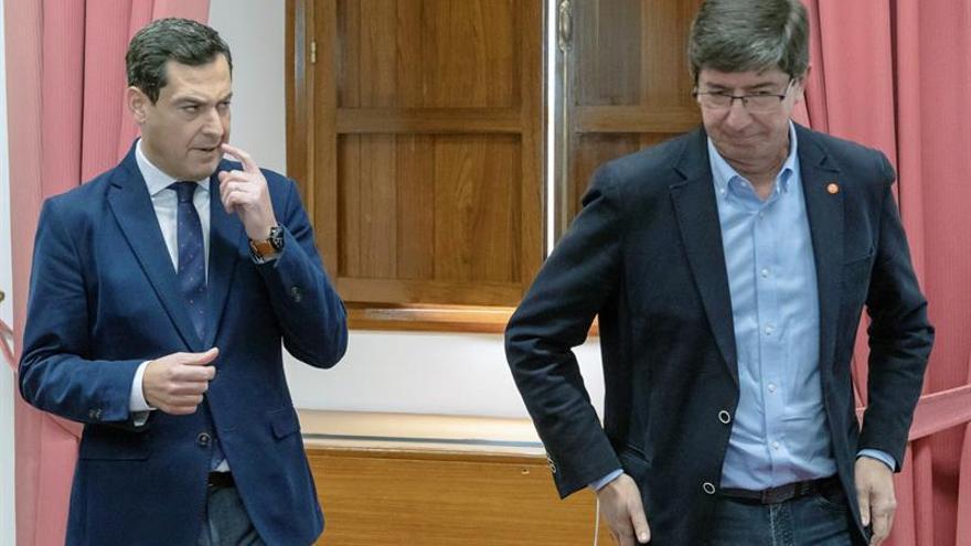 PP y Cs acuerdan que todos los partidos estén en la Mesa del Parlamento de Andalucía
