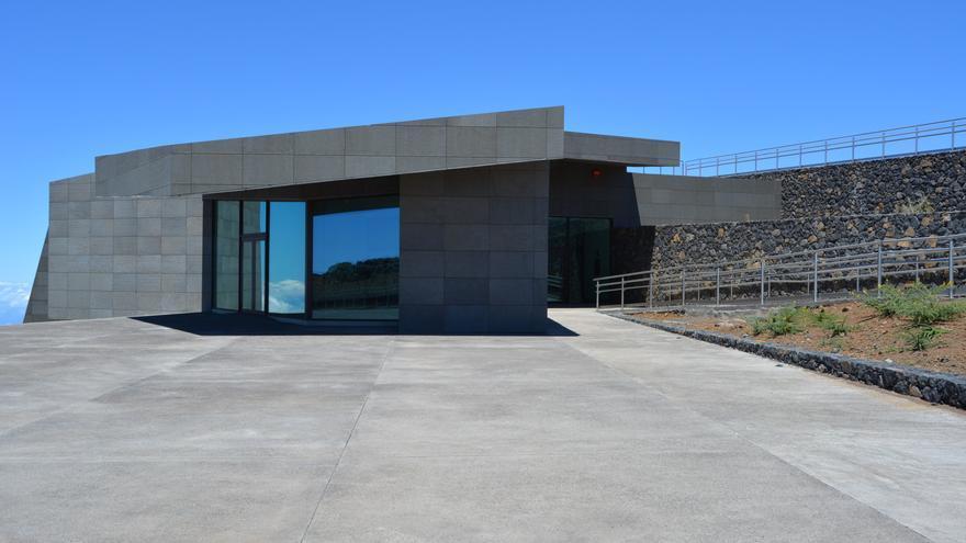 Centro de Visitantes del Roque de Los Muchachos.