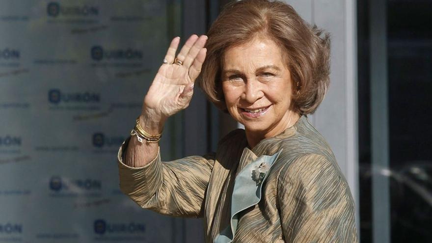 La Reina Sofía, que pertenece al Club Bildelberg /EFE.