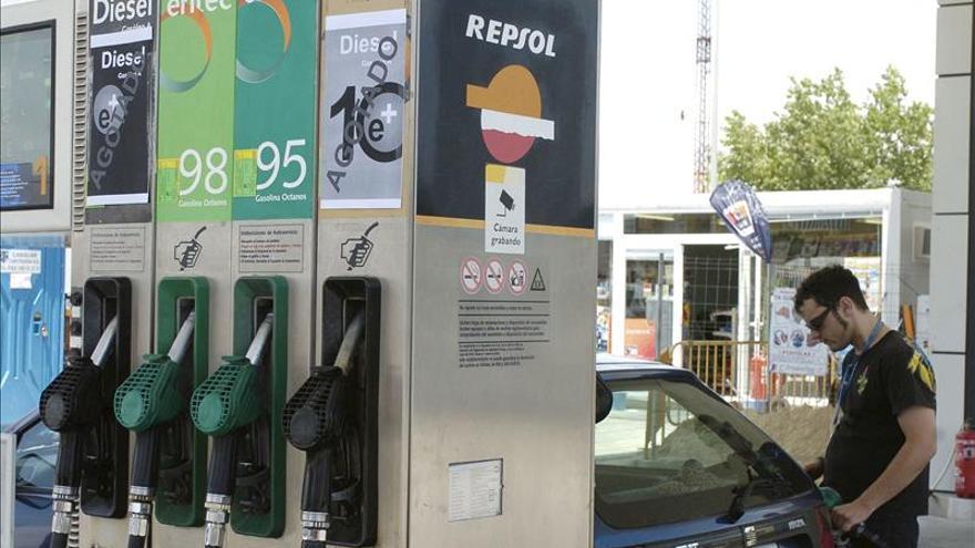 La gasolina sube un 0,2 por ciento mientras el gasóleo se mantiene en la última semana