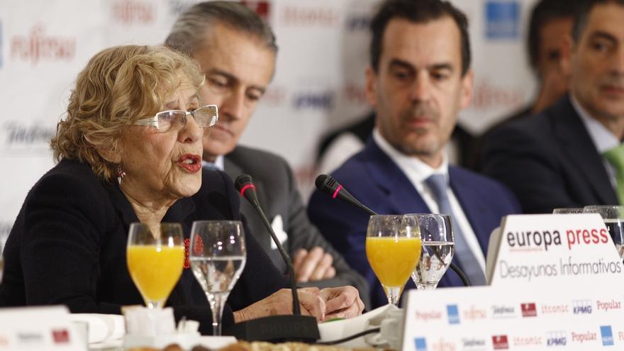 """Carmena no hará campaña electoral aunque espera que haya """"cuanto antes un Gobierno renovador"""""""