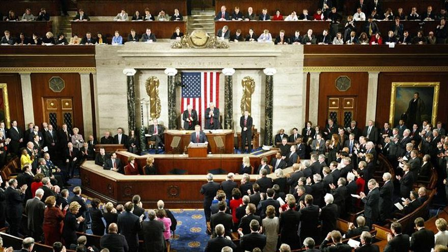 La Cámara Baja de EE.UU. aprueba el presupuesto hasta abril a falta del sí del Senado