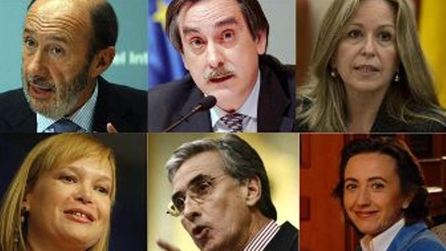 Algunos de los rostros de la remodelación. (EUROPA PRESS)