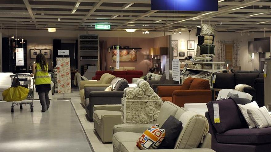 Imagen de archivo de una tienda Ikea.