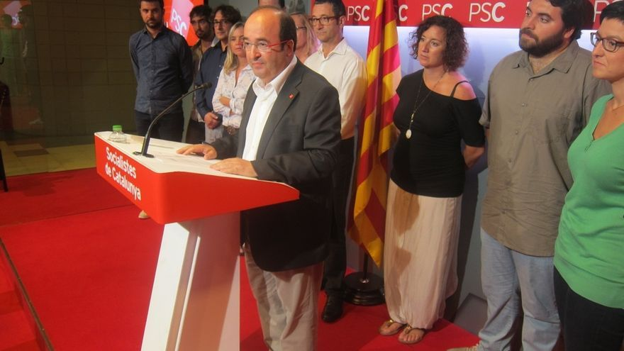 Iceta y Duran almuerzan juntos para analizar la situación en Cataluña
