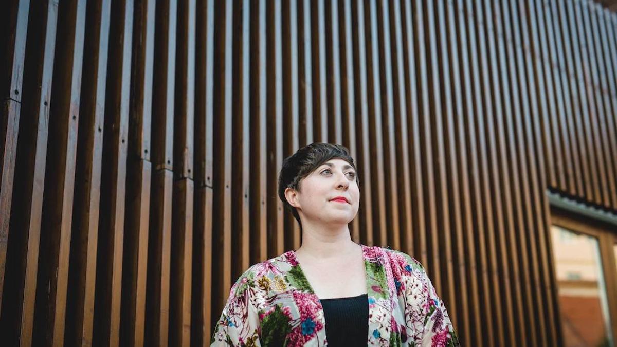 La escritora Elena Medel.