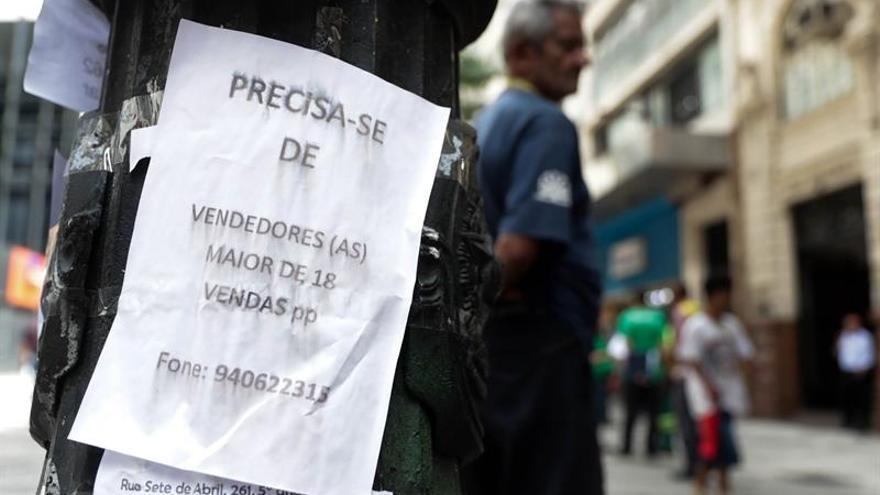 El desempleo sube en marzo y afecta a 13,7 millones de personas en Brasil