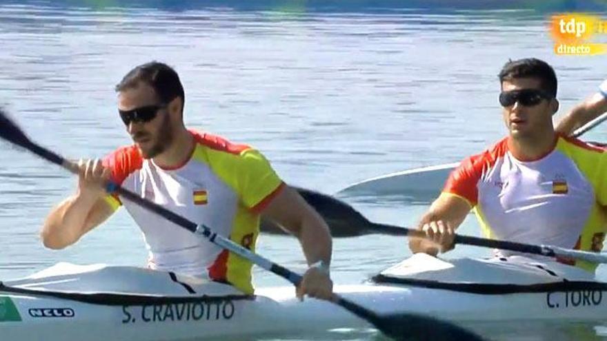 Oro para Saúl Craviotto y Cristian Toro, extronista y pareja de Irene Junquera