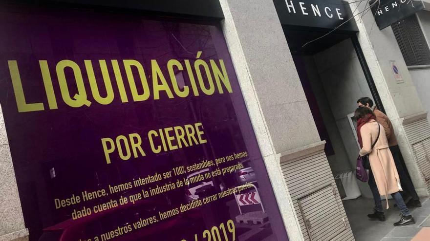 Tienda Hence en Madrid.