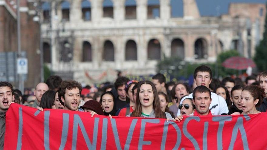 Italia vive hoy una huelga de la educación pública contra la reforma de Renzi