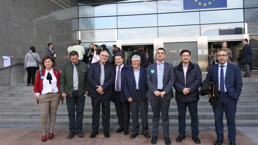 Reunión en el Parlamento Europeo con el ponente de la negociación de la reforma de la PAC