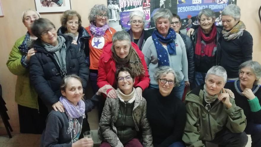 El reencuentro en Casa de la Dona. Febrero de 2019