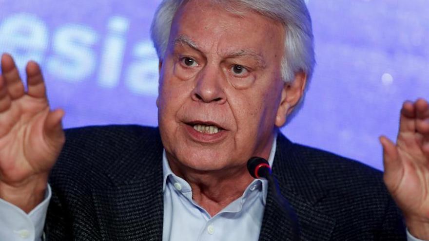 Gónzalez, dispuesto a crear una plataforma en defensa de los venezolanos en España