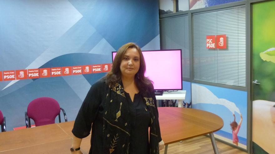 Marián Franquet, candidata número 2 a la Alcaldía de Santa Cruz de Tenerife.