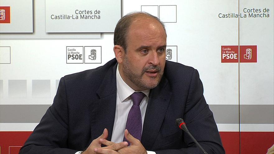 José Luis Martínez Guijarro, portavoz del PSOE en las Cortes de Castilla-La Mancha