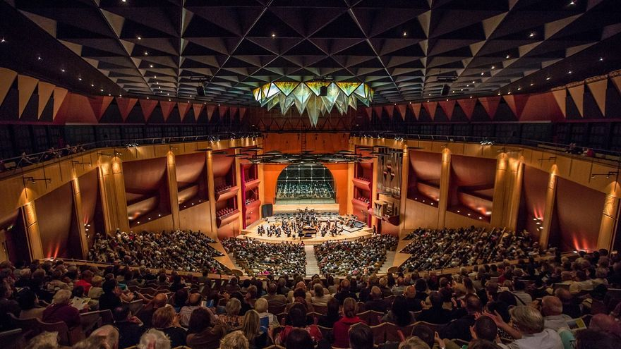 La OFGC en el Auditorio Alfredo Kraus.
