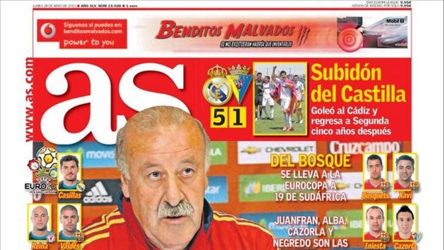 De las portadas del día (28/05/2012) #13