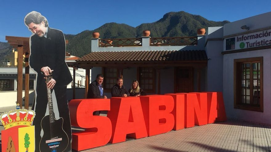 En la imagen, photocall de Sabina en El Paso.