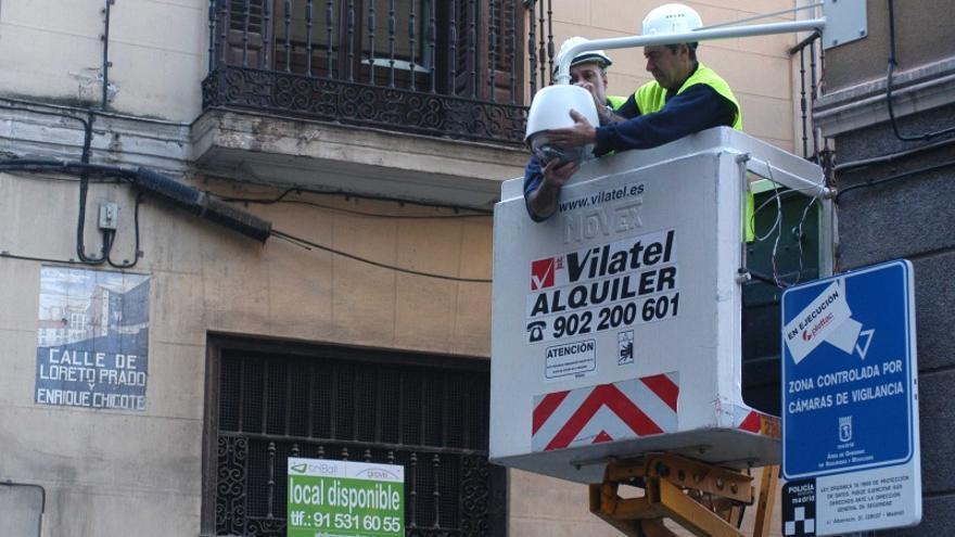 Instalación de cámara en Loreto y Chicote (antigua) | MADRID.ES
