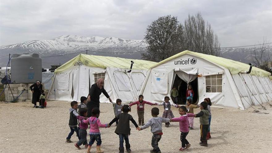 Un grupo de 204 refugiados sirios llegará a España procedente del Líbano