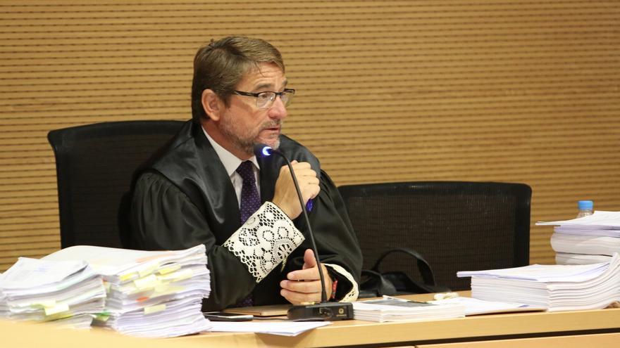 El juez Salvador Alba.