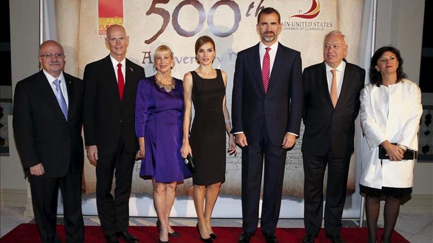 El Príncipe de Asturias avala el aumento de inversiones entre España y EE.UU.