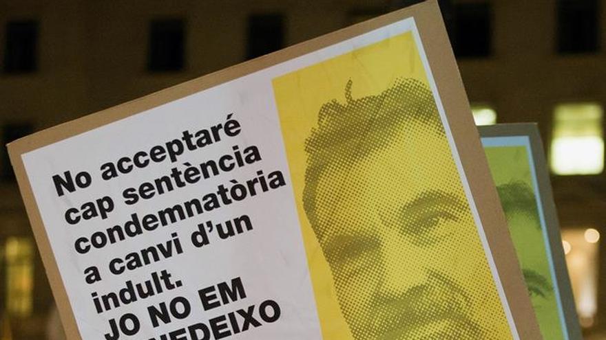 """Cuixart pide que el juicio del """"procés"""" se haga en Cataluña y en catalán"""