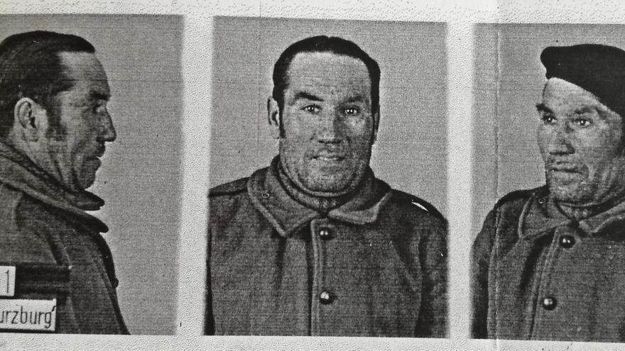 Fotografías de Antonio Sierra realizadas por la Gestapo