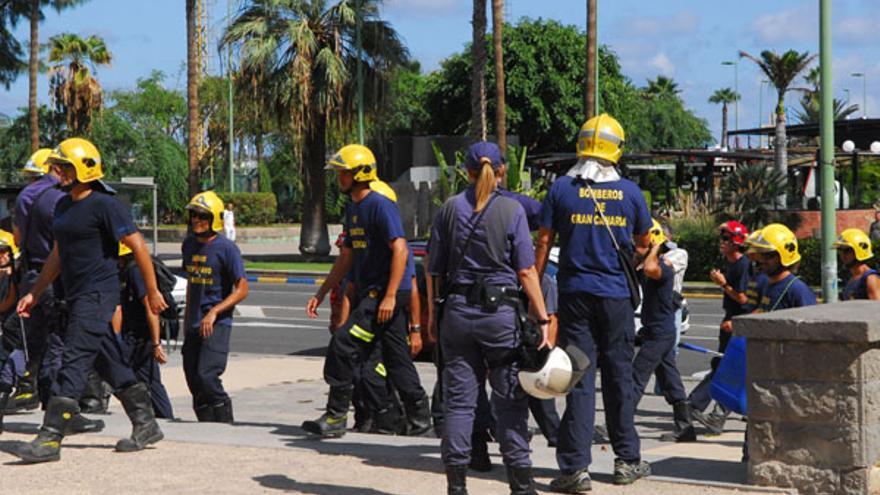 De la protesta de los bomberos #3