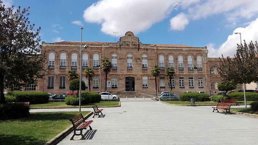 El Hospital de la Santísima Trinidad de Salamanca.