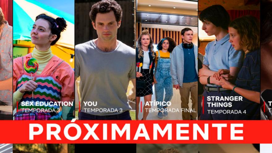 """Netflix recuerda el arsenal de series que volverán """"próximamente"""" a su catálogo"""