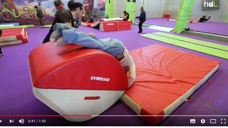 AcroIntegra, un proyecto que desarrolla en Granada el Club de Gimnasia Acrobática Balans