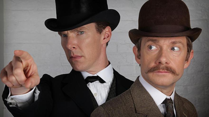 Primera imagen del capítulo especial de 'Sherlock' previsto para 2015