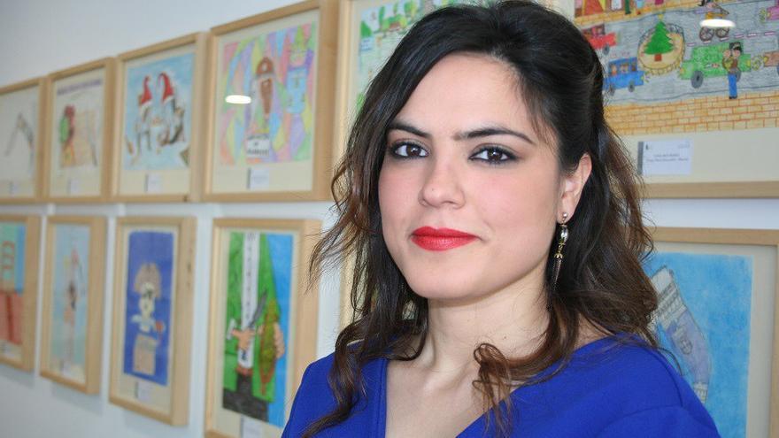Cortes Muñoz, trabajadora social de Fundación Secretariado Gitano en Albacete
