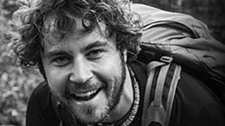 El joven alavés Borja Lázaro, desaparecido en Colombia en enero de 2014.