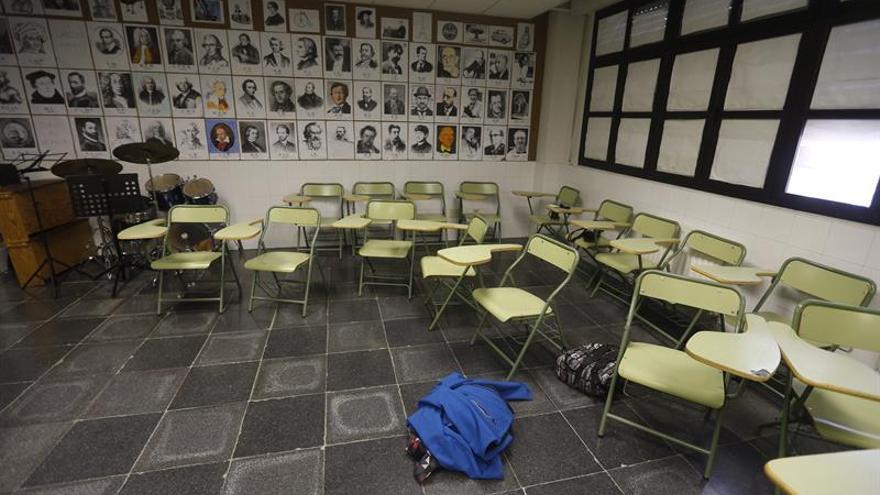 En CGT aseguran que hay aulas vacías en muchos colegios públicos.