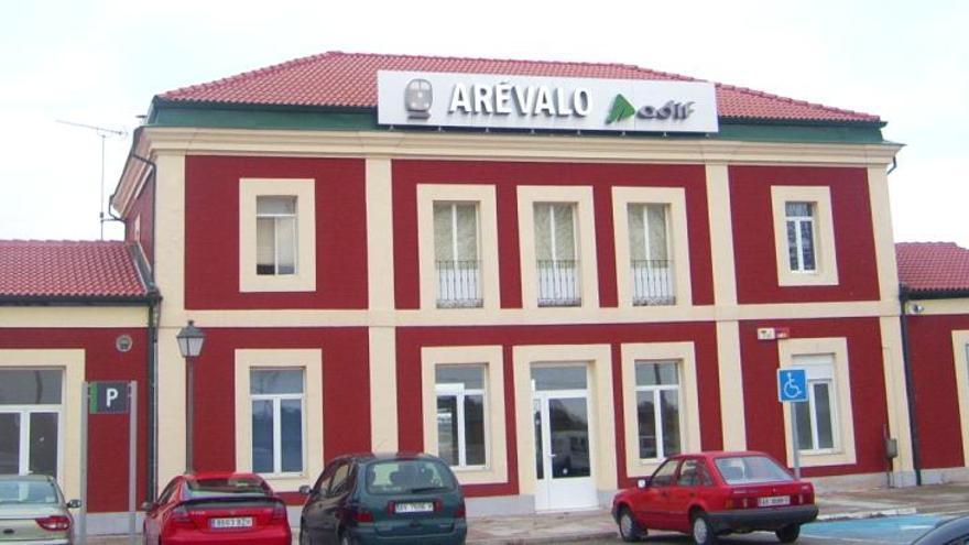 Estación de trenes de Arévalo en Ávila.