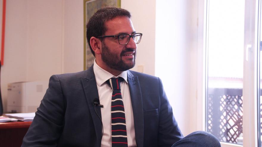 Sergio Gutiérrez, secretario de Organización Política del PSOE Castilla-La Mancha