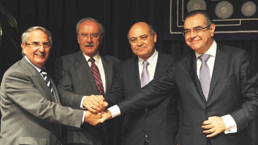 Acto de presentación del nuevo presidente de CEOE-Tenerife. (ACN PRESS)