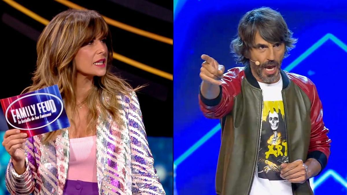 Nuria Roca en 'Family Feud' y Santi Millán en 'Got Talent'