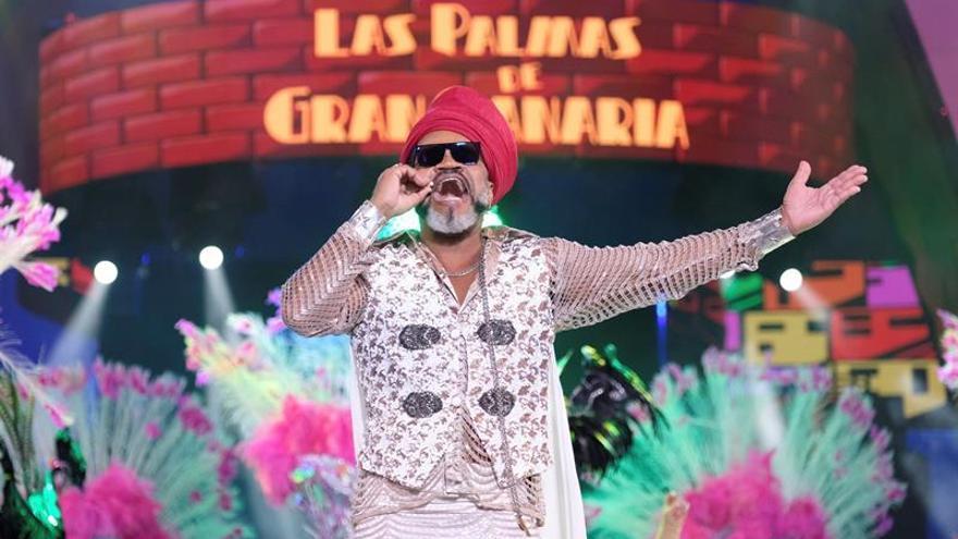 El músico, cantante y productor brasileño Carlinhos Brown . (EFE/Angel Medina G).