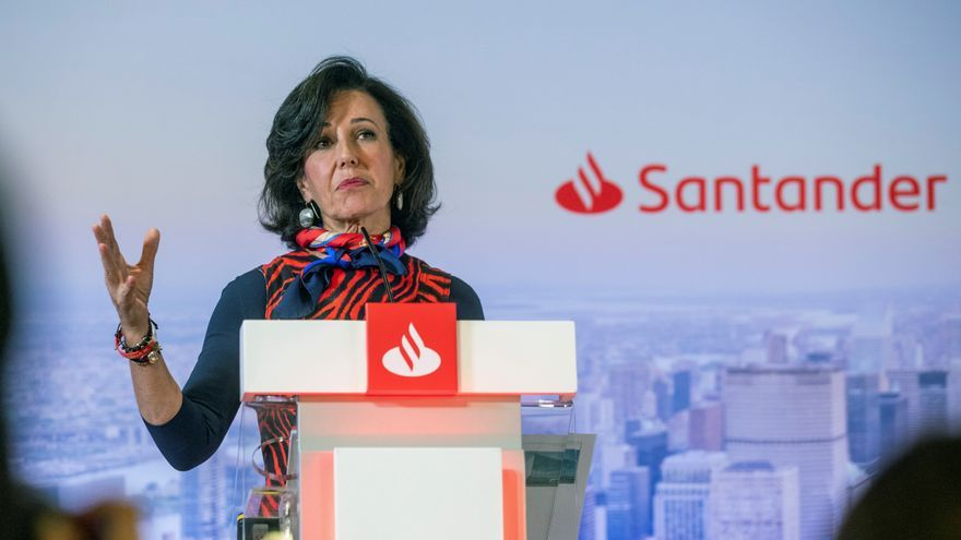 El Santander pierde 10.798 millones hasta junio al ajustar el valor de filiales
